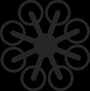 Die Bauweise eines Octocopters