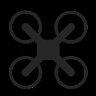 Die Bauweise eines Quadrocopters
